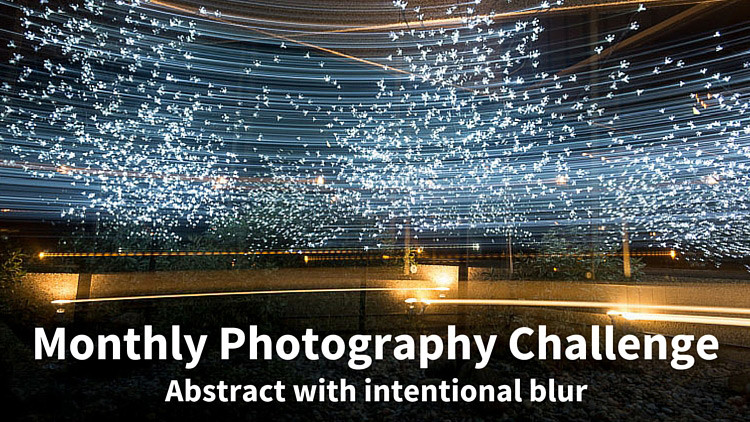 Holiday Lights In Abstract Slow Shutter >> Create An Abstract Image Using Intentional Blur New Monthly