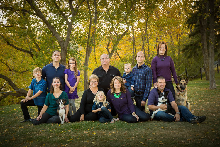 Using a tripod for large groups helps you engage with the people, especially kids, and maintains your focus and composition.
