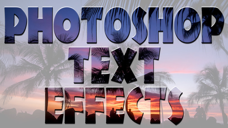 How to Create a Neat Text Effect in Photoshop