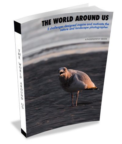 world around us photography challenge ebook cover