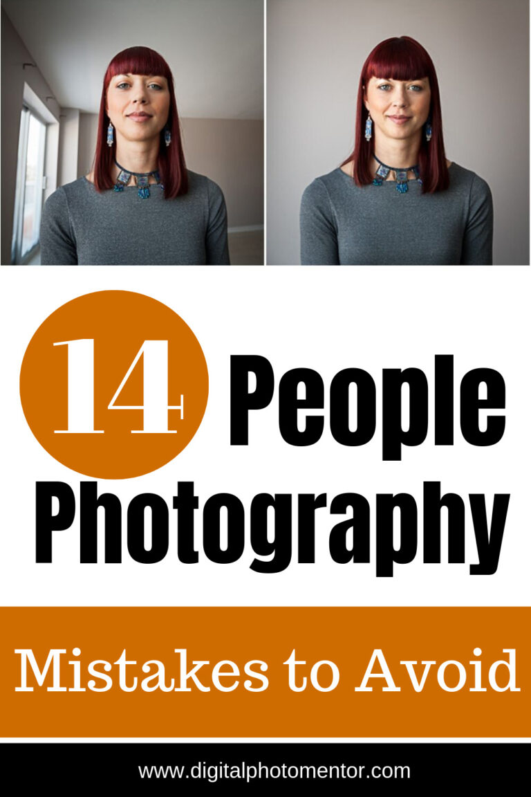 14 people photography tips for beginners so they can avoid making the same common mistakes.