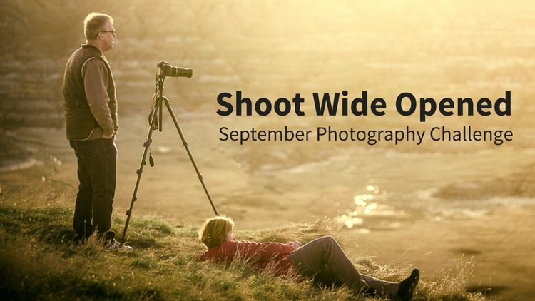 Shoot Wide Open Photography Challenge