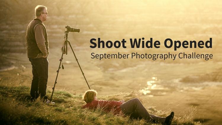 Shoot Wide Open Photography Challenge