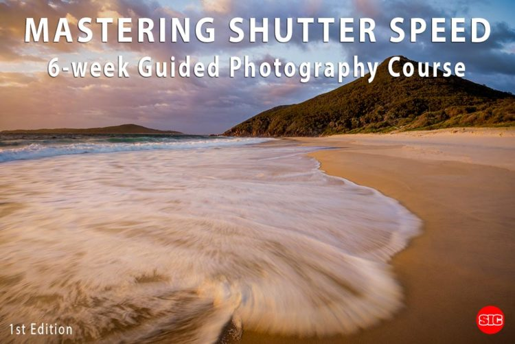 Mastering Shutter Speed 6 week photography course