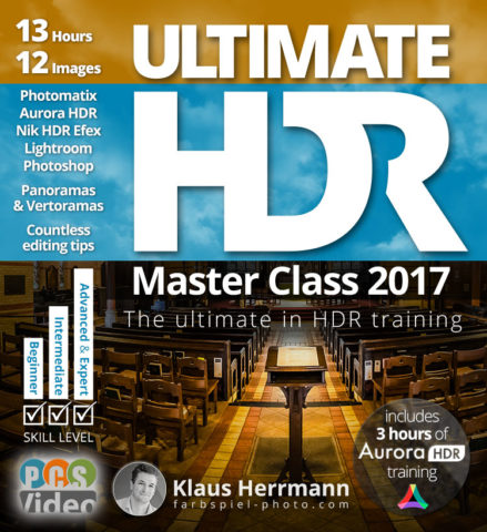 Ultimate HDR video course product cover