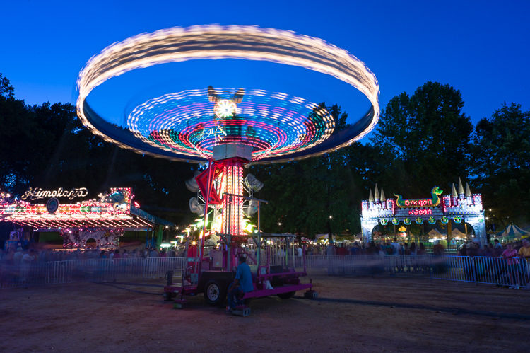 Monmouth County Fair - focal point long exposures