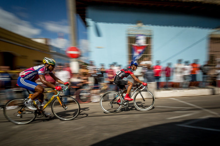 Bicycle race I stumbled upon by accident. ~ Trinidad, Cuba. Travel Photography Tips