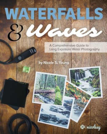 waterfalls and waves - a comprehensive guide to long exposure water photography book cover