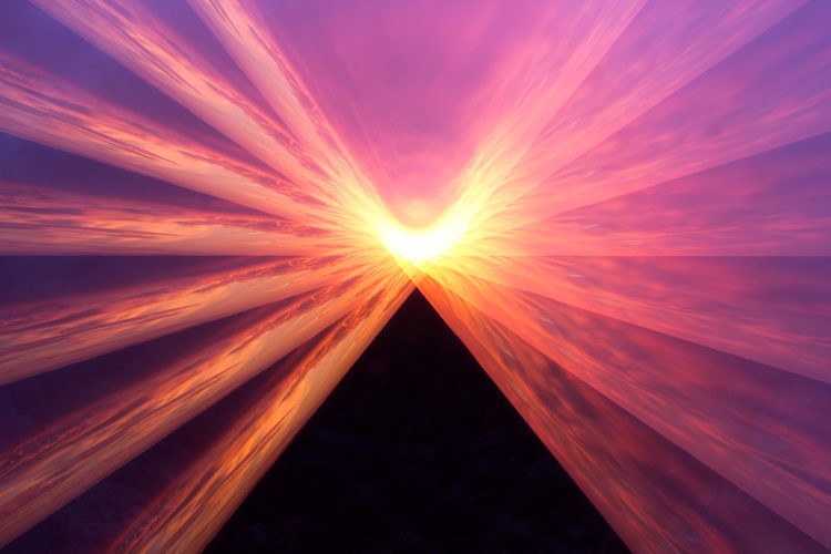 How to Make Pyramids in the Sky Using Just Your Camera