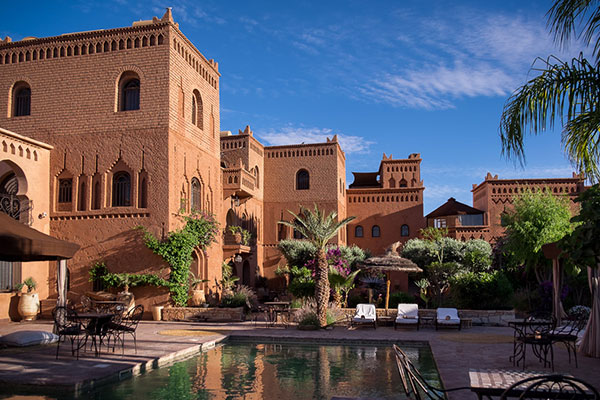 Our accommodations for our stay in Ouarzazate Morocco during our 14 day photo tour of this exotic country.