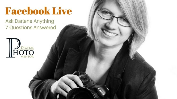 Ask Darlene Anything – Facebook Live Q&A