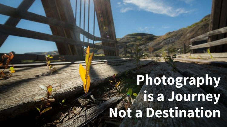 Photography is a Journey – Don't Expect Perfection on the First Shot