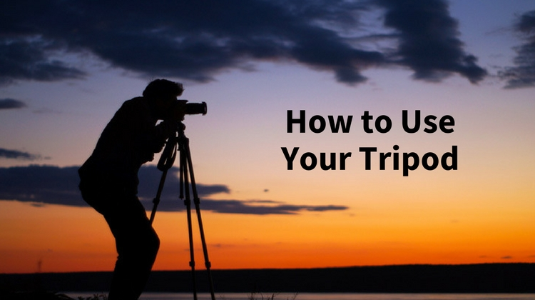 A Video Tutorial from Phil Steele – How to Use Your Tripod