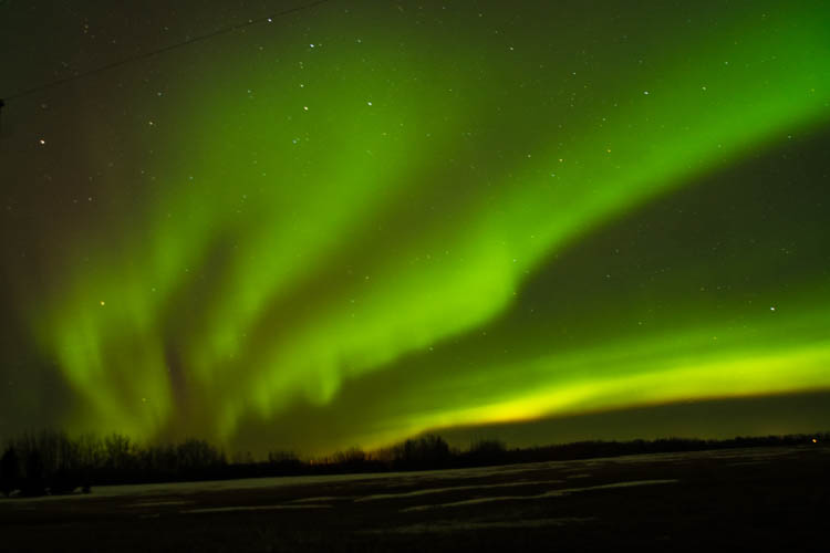 night photography - northern lights