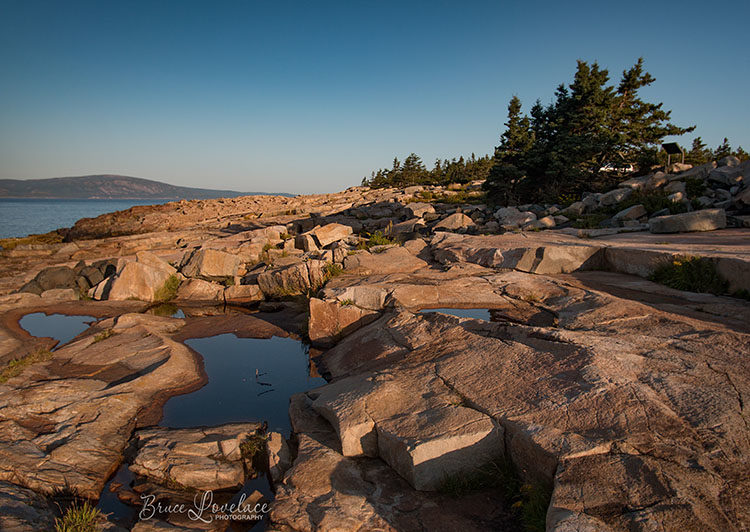 Schoodic penninsula in Acadia National Park