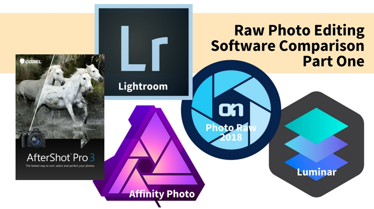 Raw Photo Editing Software Review & Comparison For 2018