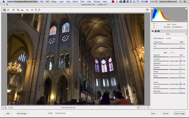 Adobe photoshop elements interface screenshot