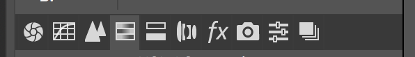 screenshot of Adobe Photoshop tabs