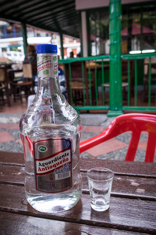 Aguardiente - the drink of Colombia