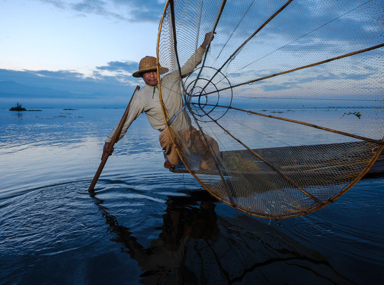 Fisherman of Inle Lake, Myanmar