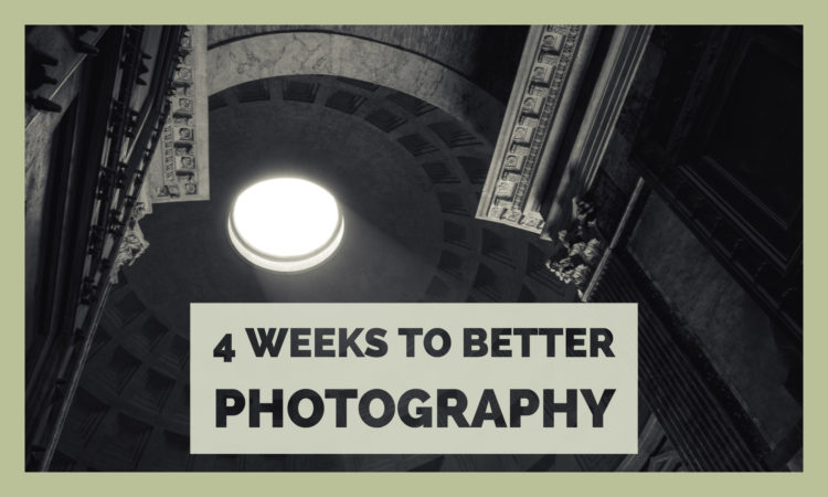 4 Weeks to Better Photography