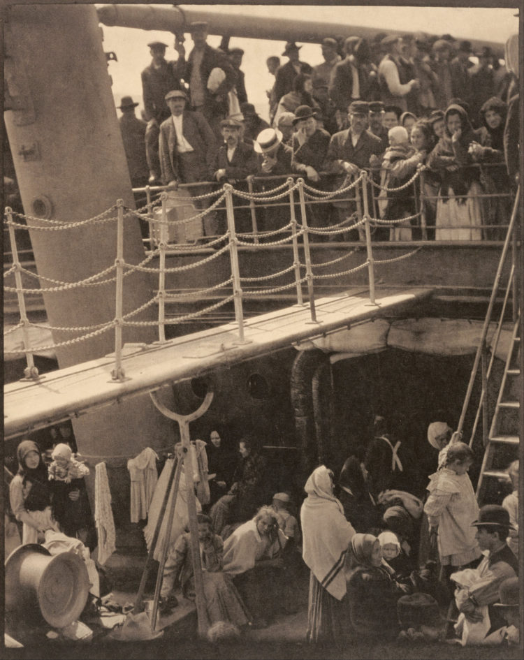 famous photo Steerage by Alfred Stieglitz