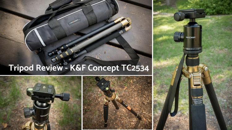 Tripod Review – the K&F Concept TC2534 Carbon Fiber Tripod
