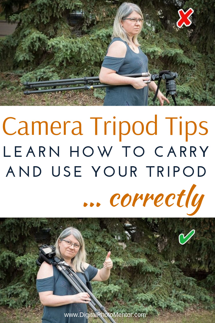 camera tripod tips for photographers who want to learn how to use a camera tripod.
