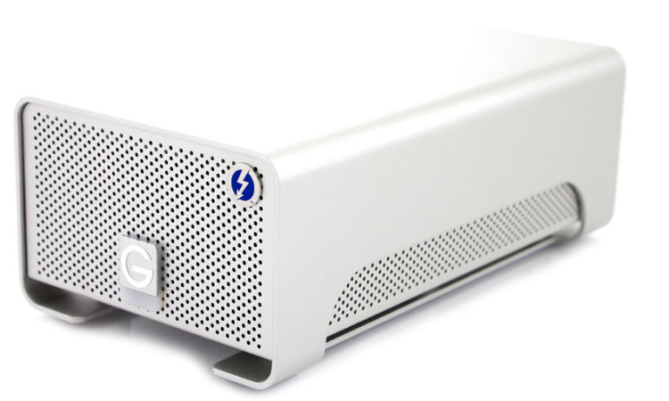 screenshot of G-Tech 8GB external drive for backup solutions