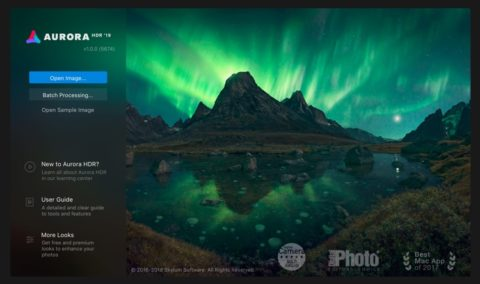hdr photography software Aurora HDR 2019