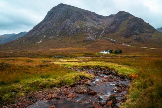 Lagangarbh Hut, Glencoe, Scotland