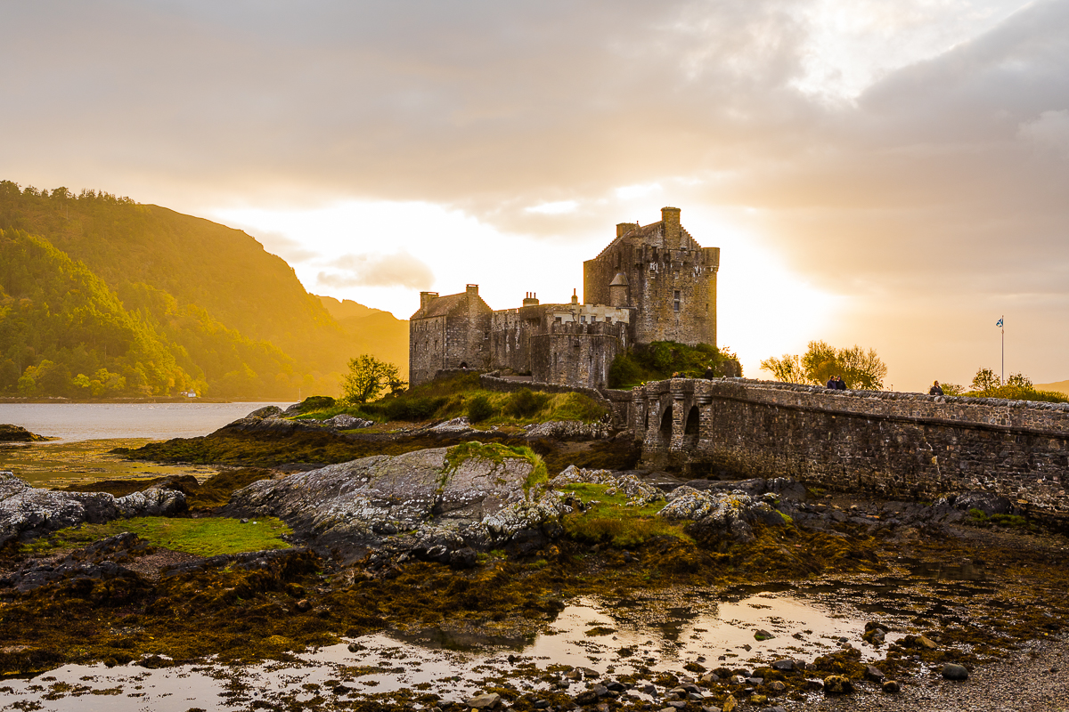 Eilean Donan Castle, Kyle of Lachalsh, Scotland featured in our photo workshop of scotland