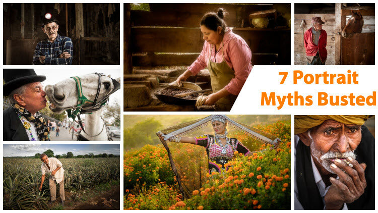 7 People and Portrait Photography Myths Busted