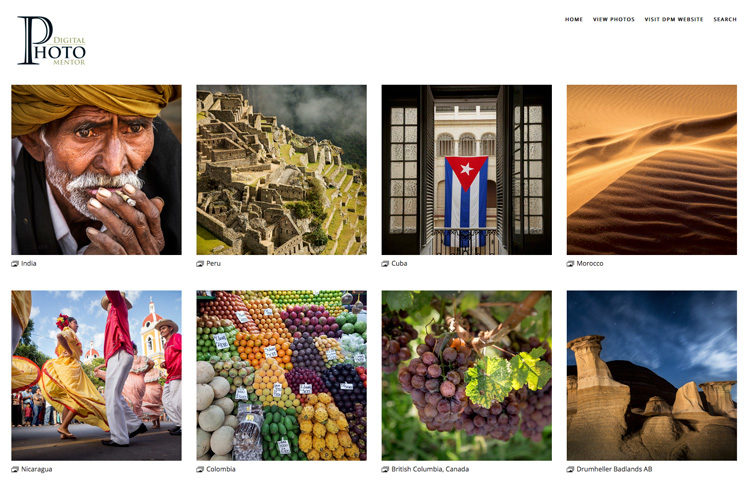 Build a Yourself an Online Gallery – Photography Challenge