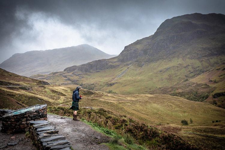 landscape photography checklist - Scotland hills