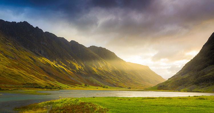 landscape photography checklist scotland scene