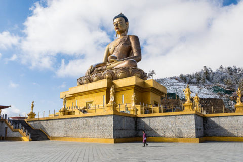 Big Buddha statue - biggest buddha statue in the world