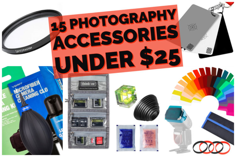 Top 15 Photography Accessories under $25