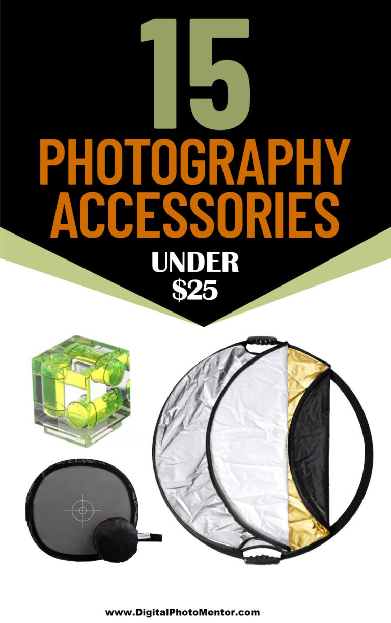 photography accessories for photographers and under $25
