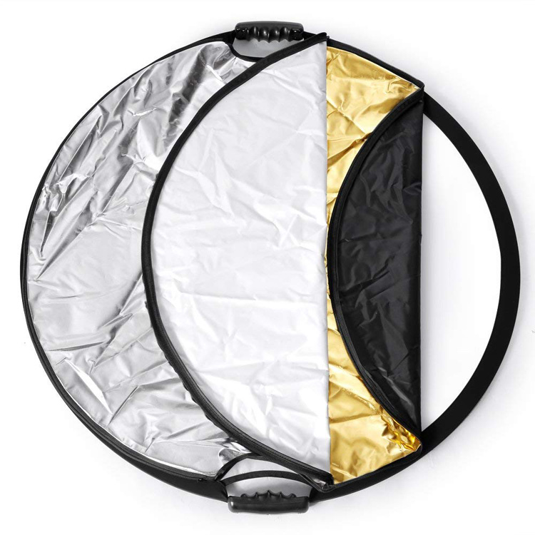 5 in 1 reflector showing the different colors