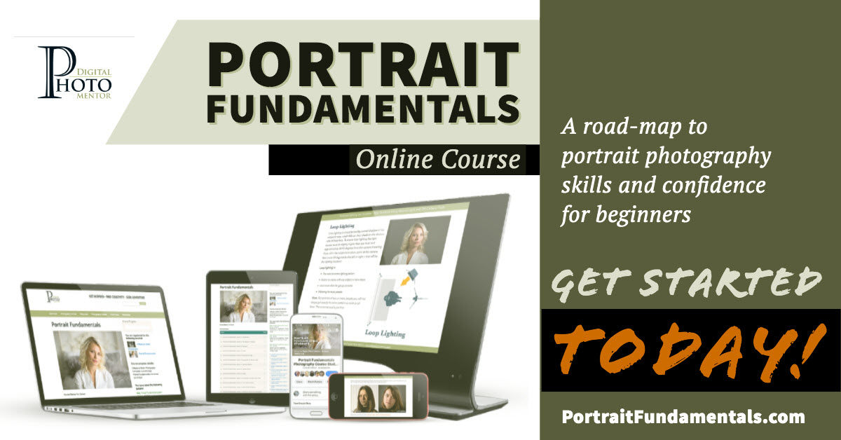 Portrait Photography Fundamentals Course - Learn to Take