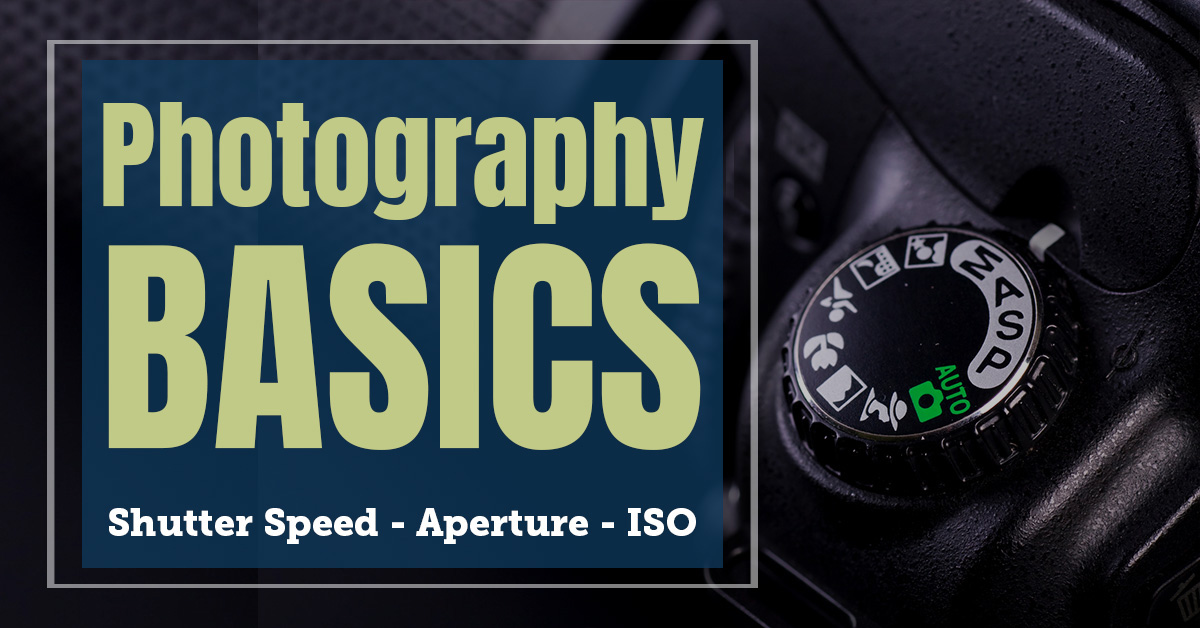 learn photography basics with these free tutorials - iso, shutter speed, aperture and more