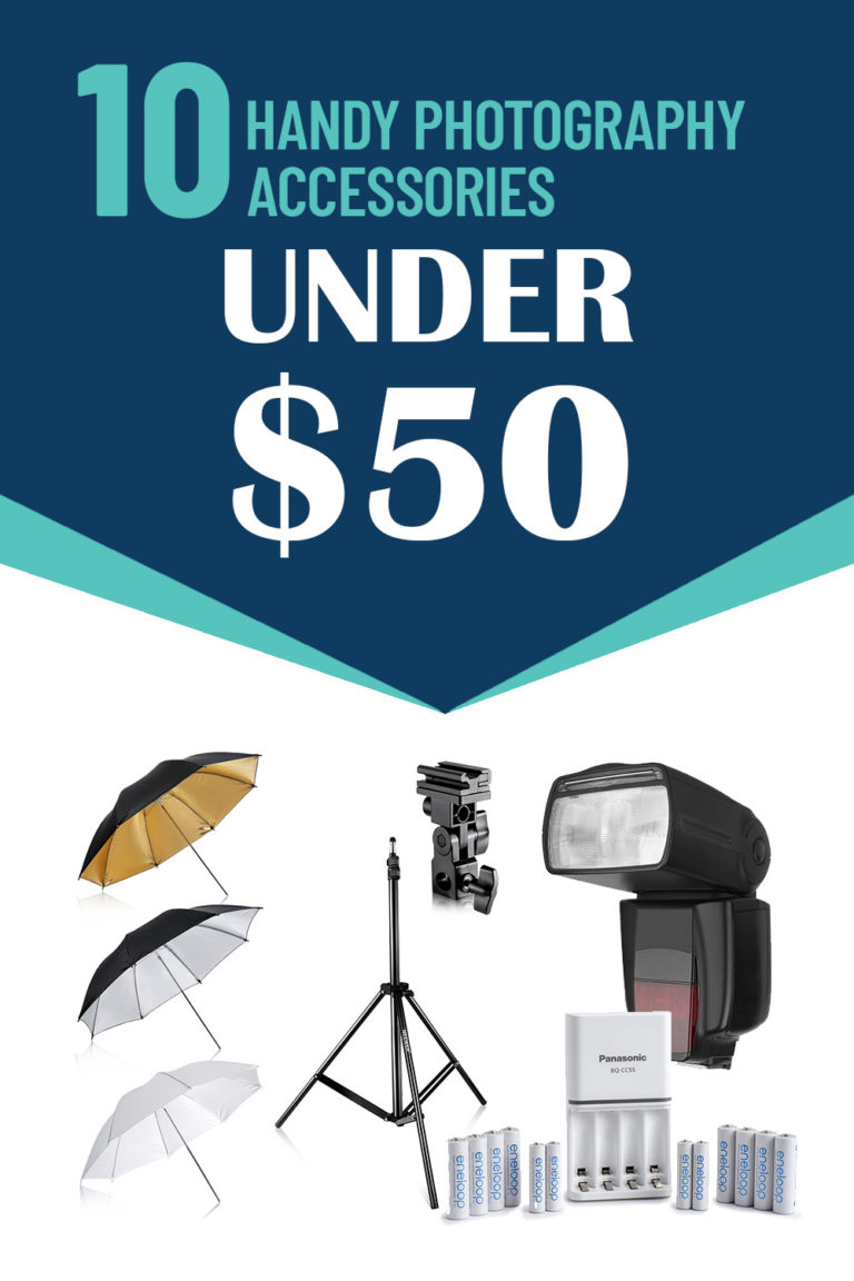 essential list of photography accessories for photographers that are all under $50