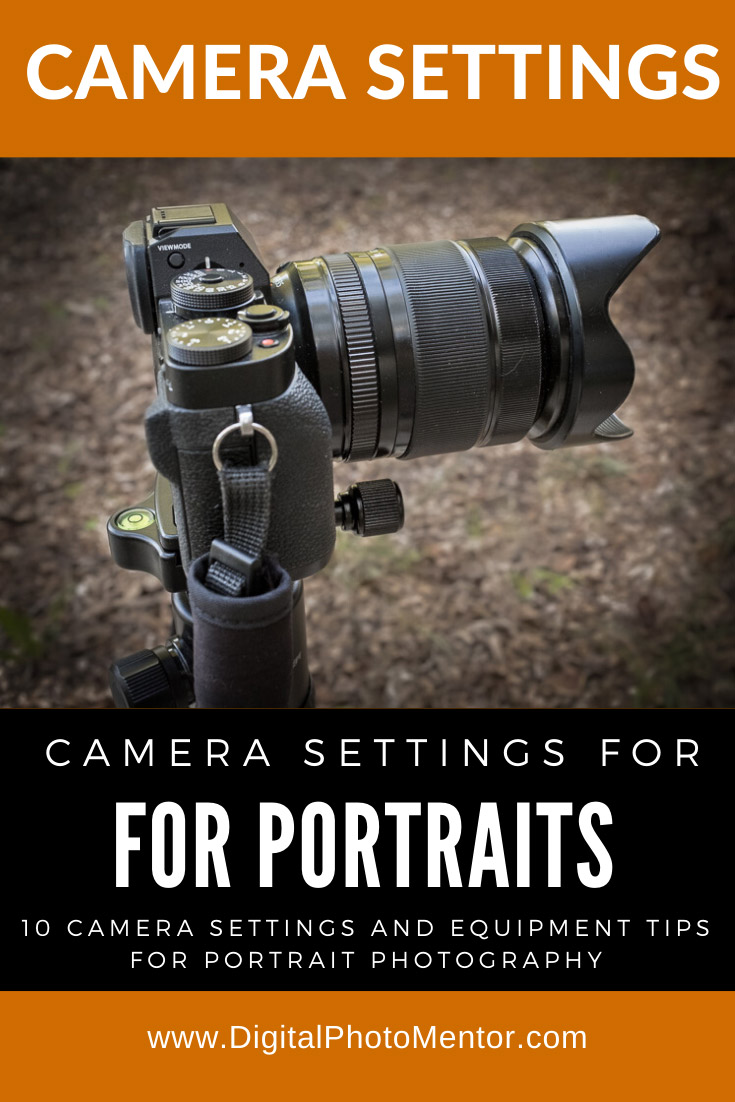 a photography tips article on camera settings for portraits.  For portrait photographers or beginners learing portrait photography and who want to take better people photos.