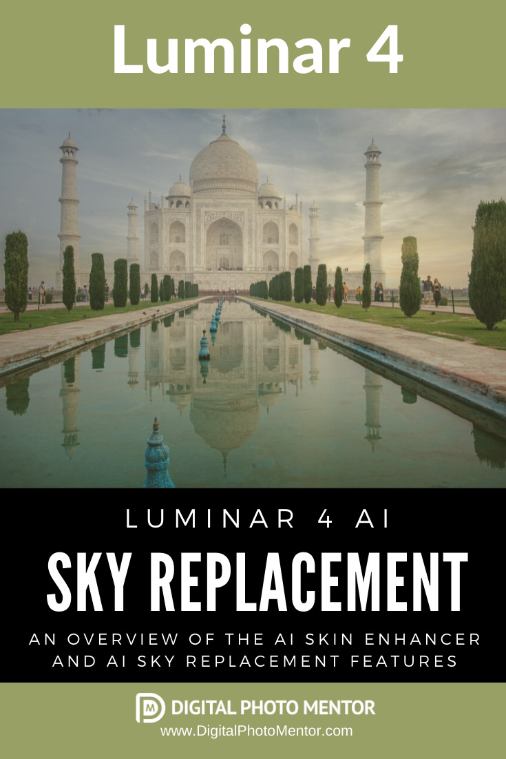 Luminar 4 AI Sky Replacement feature is taken for a test drive to see what it can do for your photos.  I used the new AI Sky replacement on some photos from India and was quite pleased with the results. Photographers seem to prefer the Luminar 4 pricing model, in that you pay once and theres no subscription.