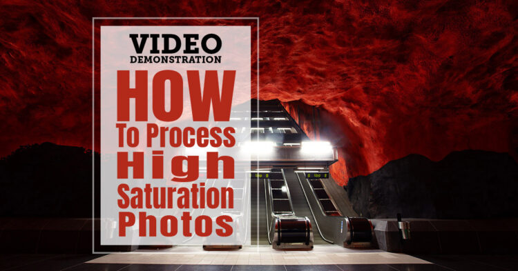 Photoshop Tutorial – How to Effectively Process High Saturation Photos