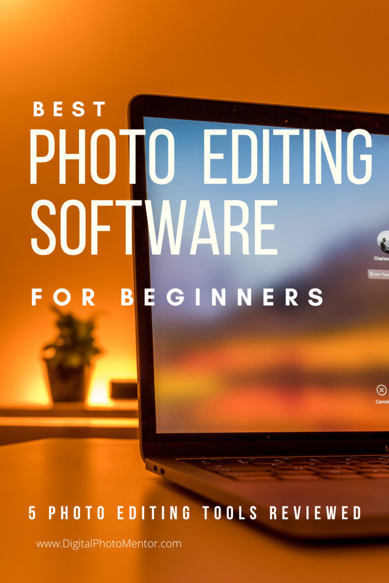 Which is the best photo editing software for beginners?  5 photo editing software for beginners to learn how to edit pictures are reviewed by professional photographer Darlene Hildebrandt.  These photo editing tools for beginners can be used for mac or pc