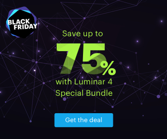 luminar 4 black friday special