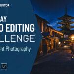 photo editing challenge night photography day 7
