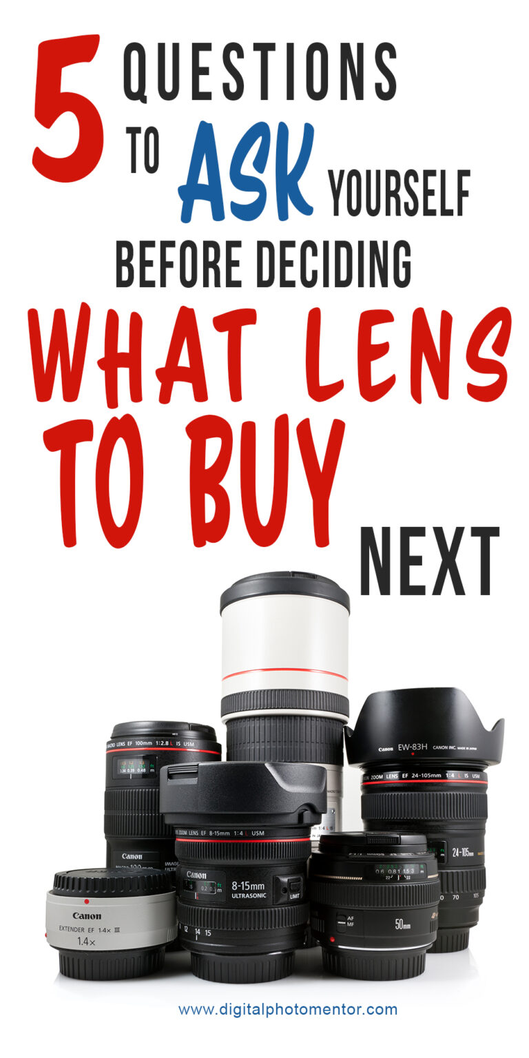 what camera lens should I buy next
